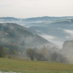 Lauenstein im Nebel