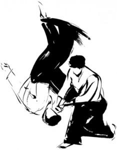 Aikido Wurftechnik u. Ukemi ( der Fall )