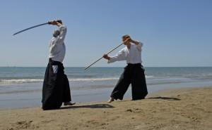 Ken tai Jo ( Schwert gegen Stock )