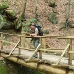 beim Trekking