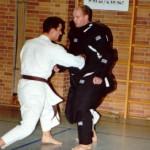 Training mit Vollkörperschutzanzug