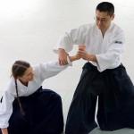 Aikido, Armfestlegetechnik Ikkyo