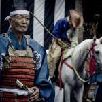 Samuraivorführung bei Fukuoka