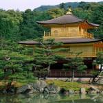 Kinakuji Tempel, Kyoto