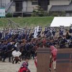 nachgestellte Schlacht von Sekigahara