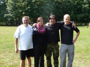Hans,Heike,Andi,Seb (v.l,n.r.)